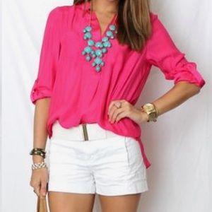 Versatile Pink Blouse